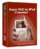 Super DVD to iPod Converter Version Screenshot