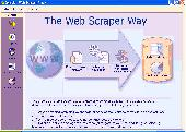 Screenshot of Web Scraper Plus+: Web Spider Edition