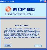 1st DVD XCopy Deluxe Screenshot