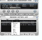 1st Super Mp3 Recorder Screenshot