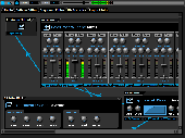 Screenshot of DarkWave Studio