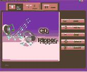 Playtime CD MP3 Ripper Screenshot