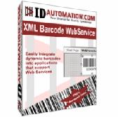 IDAutomation XML Barcode Webservice Screenshot