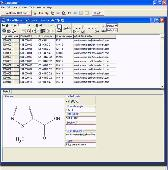 ChemDBsoft Academic Screenshot