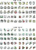 xp and mac style icons Free Screenshot
