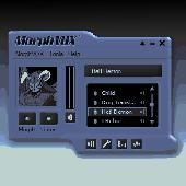 Blue Satin Skin - MorphVOX Add-on Screenshot