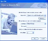 SafeIT Secure Disk Screenshot