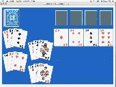 Screenshot of Classic Solitaire for Mac OSX