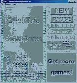 Screenshot of ClickTris
