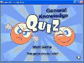 General Knowledge Quiz Screenshot