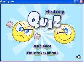 Screenshot of History Quiz
