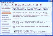 California Collections Laws Screenshot