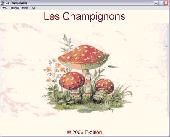 Screenshot of Les Champignons