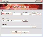 A4 DVD Ripper Screenshot