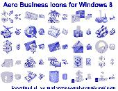 Aero Business Icons for Windows 8 Screenshot