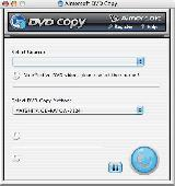 Screenshot of Aimersoft Mac DVD Copy