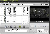 Screenshot of Ainsoft DVD to BlackBerry Converter