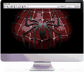Amazing SPINDERMAN screensaver Screenshot