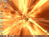 Animated Wallpaper - Space Wormhole 3D Screenshot