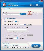 AnybizSoft PDF Splitter Screenshot