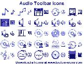 Audio Toolbar Icons Screenshot