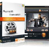 Aunsoft TransMXF Screenshot