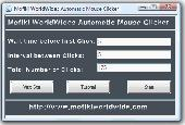 Screenshot of Automatic Mouse Clicker MWW