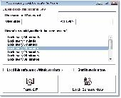 Automatically Lock Computer Software Screenshot