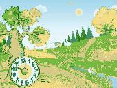 Autumn Clock Screensaver Screenshot