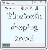 Screenshot of BluEasy