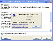 Bluetooth Driver Installer Screenshot