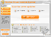 Brother Driver Updates Scanner Screenshot