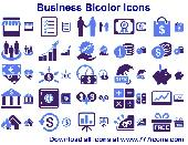 Business Bicolor Icons Screenshot