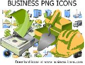 Business PNG Icons Screenshot