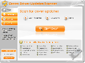 Canon Driver Updates Scanner Screenshot