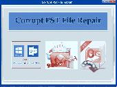 Screenshot of Corrupt PST File Repair