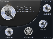 Screenshot of CyberPower Disc Creator