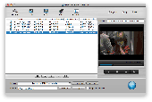 Daniusoft Video Converter for Mac Screenshot