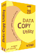 Screenshot of Data Copy Utility