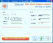 Database Conversion Software Screenshot