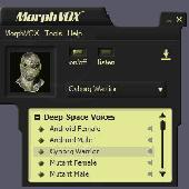 Deep Space Voices - MorphVOX Add-on Screenshot