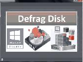 Defrag Disk Screenshot