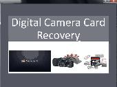 Digital Camera Card Recovery Screenshot