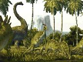 Dinosaurs 3D Screensaver Screenshot