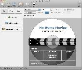 Screenshot of Disketch CD/DVD Label Maker for Mac