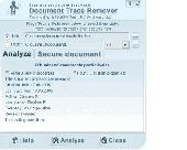 Screenshot of Document Trace Remover