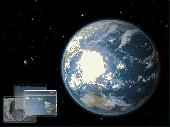Earth 3D Space Survey Screensaver for Mac OS X Screenshot