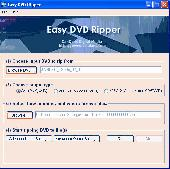 Screenshot of Easy DVD Ripper