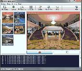 Screenshot of EyeLine Video Surveillance Software