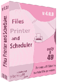 Files Printer and Scheduler Screenshot